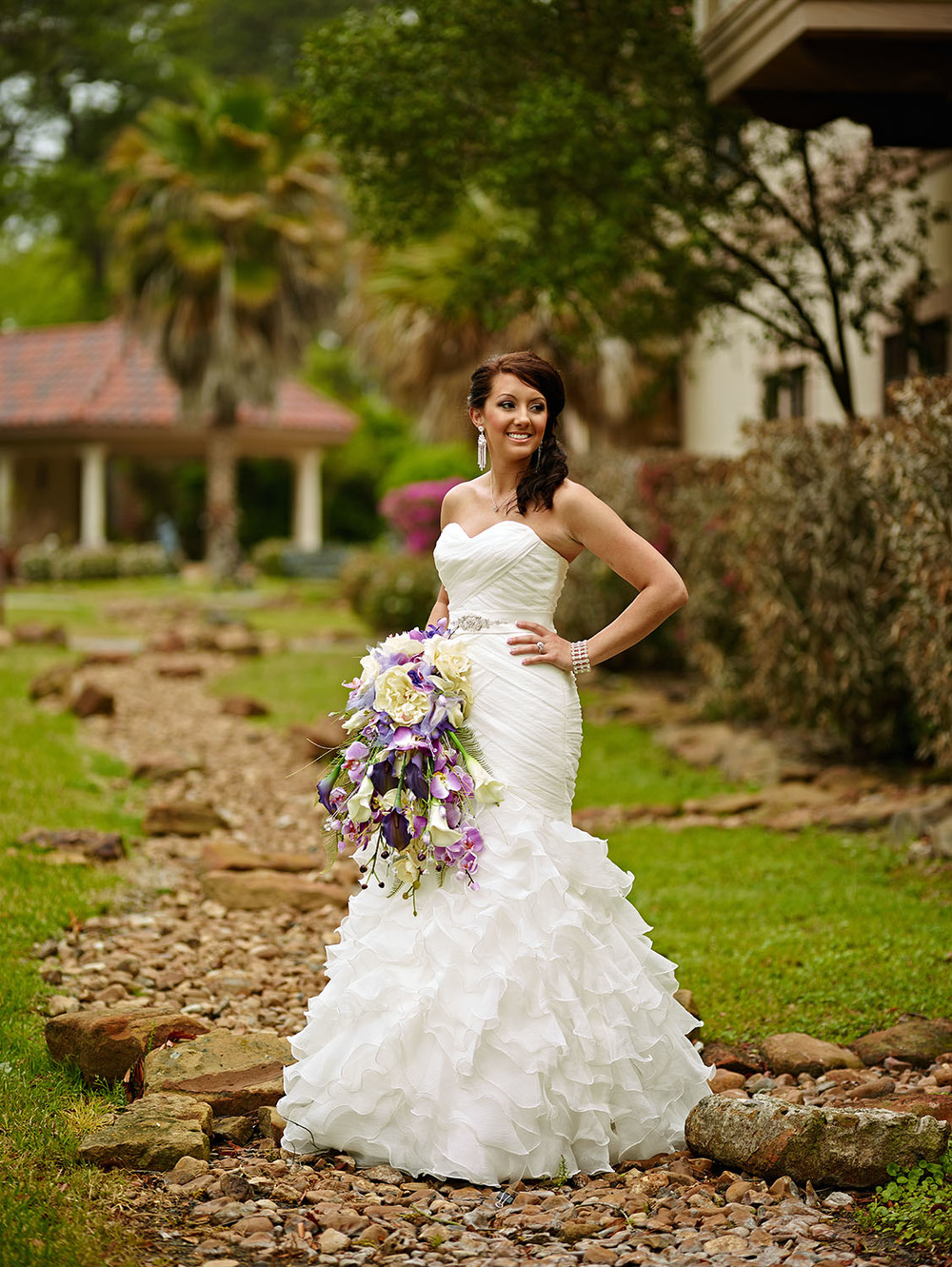Bridal photos were also done at Northwest Forest Conference Center.