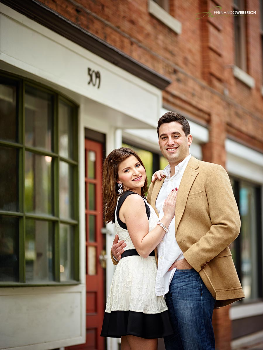 Courtney Powdrill and Matthew Henkel