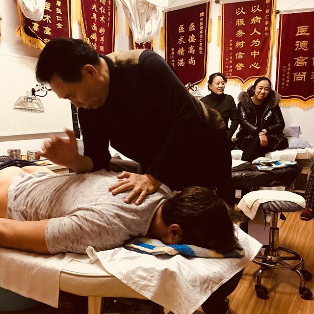 The most torturous massage of my life. This guy had superhuman strength, and a sadistic sense of humor. The more I cried the more he laughed. My back feels great though :)