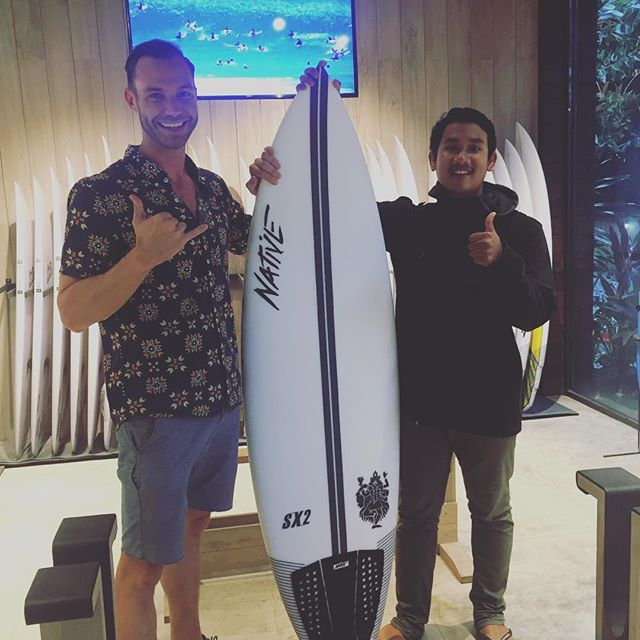 New ride! Thanks for the help @galangchandra 🙏 Now to find some waves...