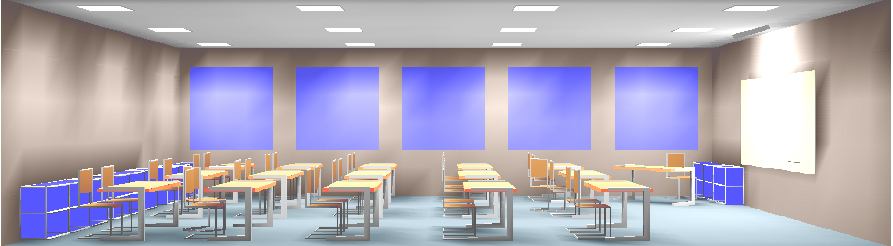 Classroom Lighting Design : Lighting design — chroma