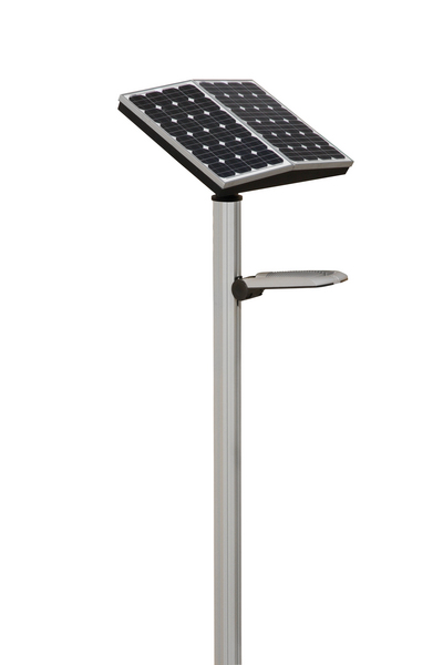 Solar powered LED amenity lighting