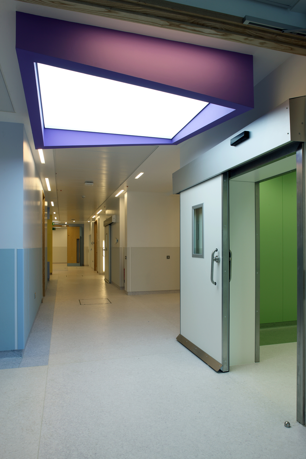 Craigavon Area Hospital simulated skylight