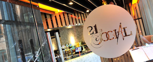 21 Social, a new nightlife hub in the centre of Belfast's busy Cathedral Quarter...