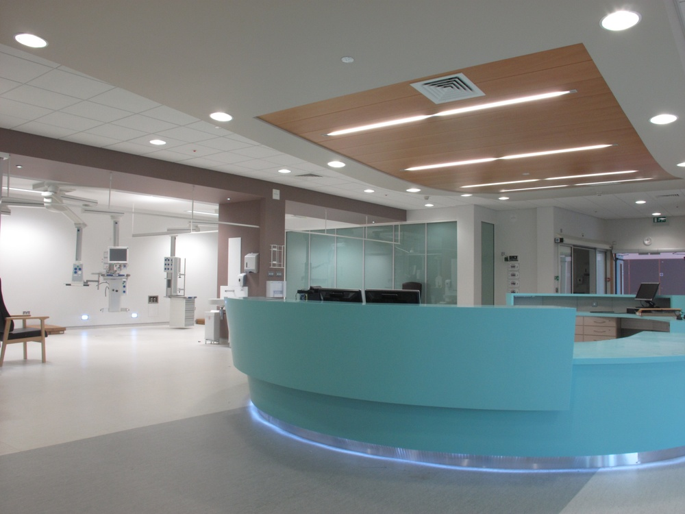 U lster Hospital, New Theatres, nurses station