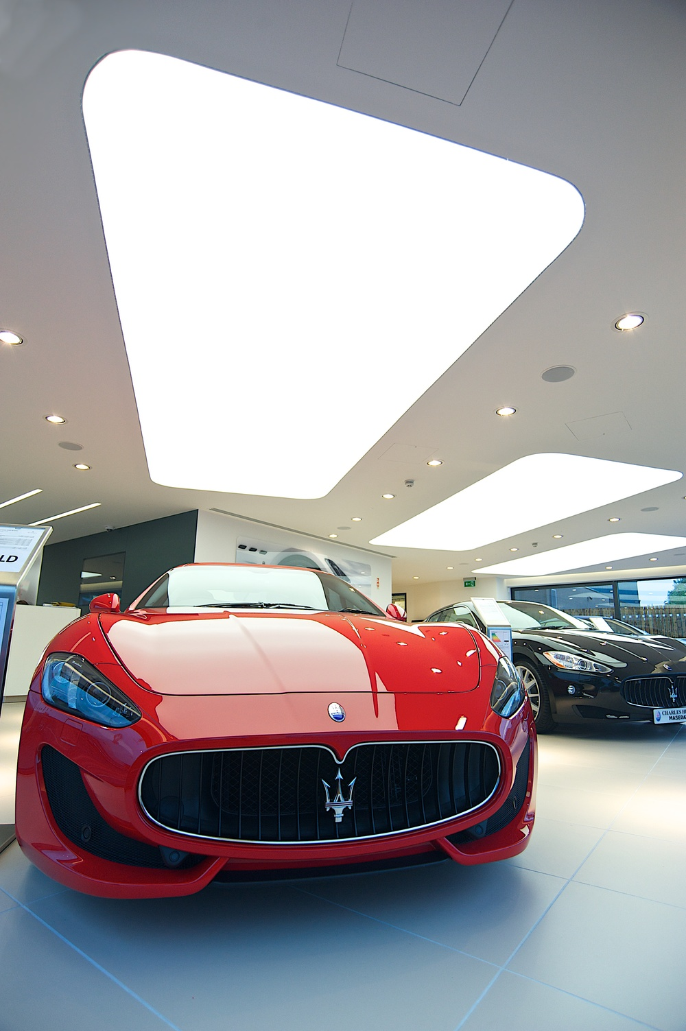 Ferrari Showroom Belfast