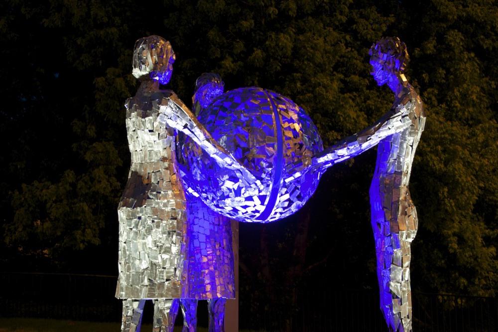 Public Art Installation, Portadown