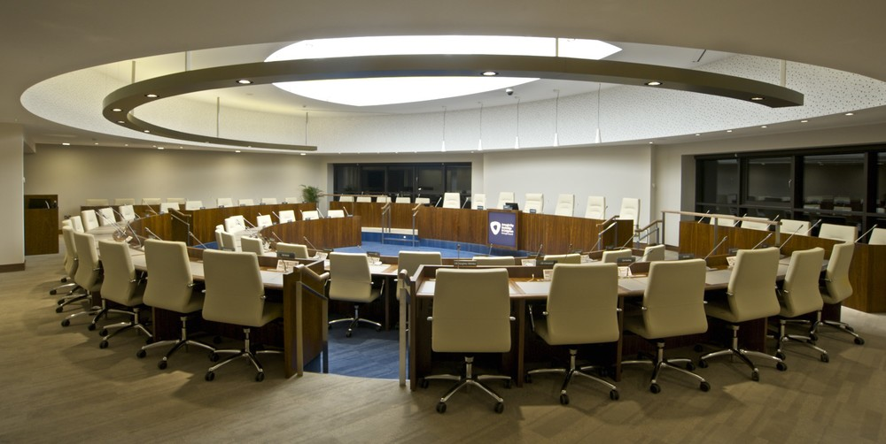 Armagh Banbridge & Craigavon Council Chamber