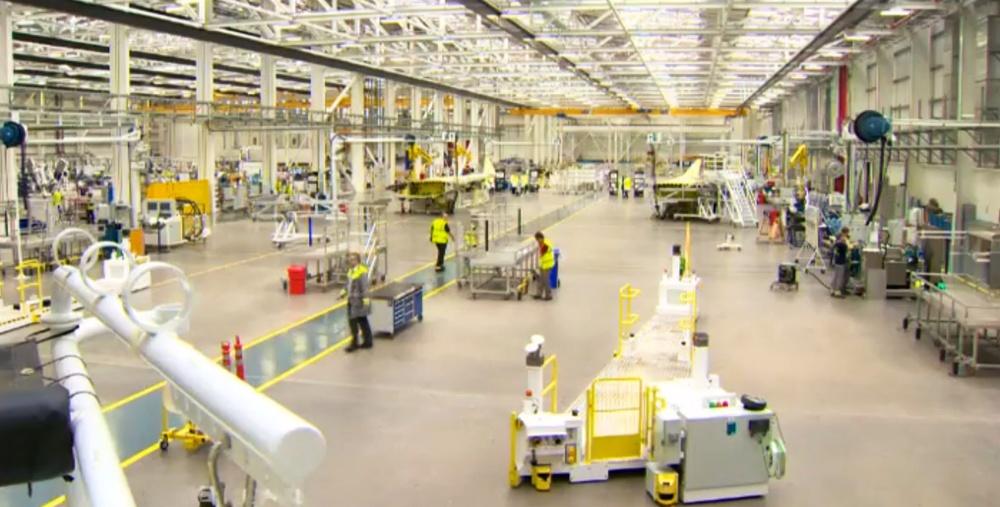 Bombardier C Series Factory