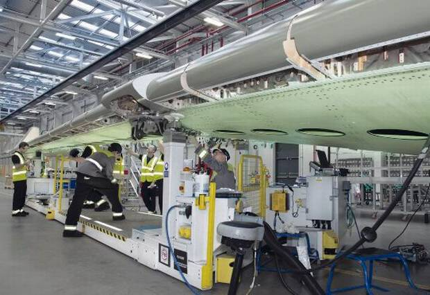 Bombardier C Series Factory