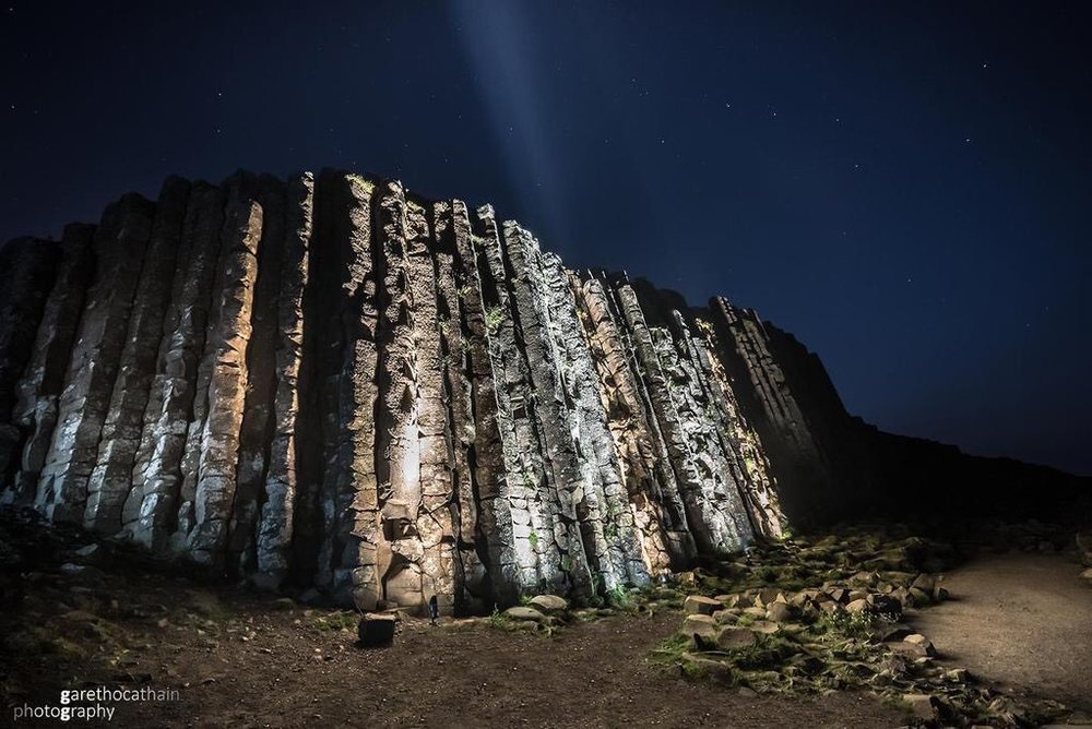 UNESCO Year of Light- Giant's Causeway