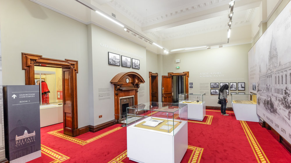 Belfast City Hall Exhibition Spaces