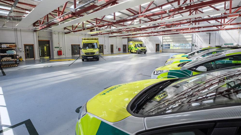 NI Ambulance Service Ballymena