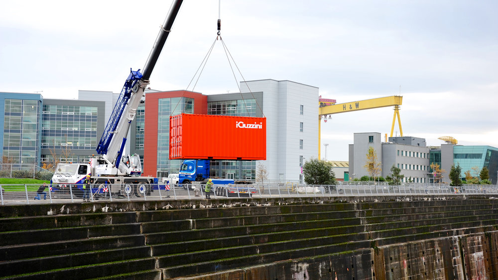 iGuzzini at the Titanic Quarter