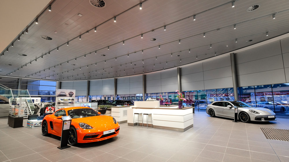 Porsche Showroom Belfast