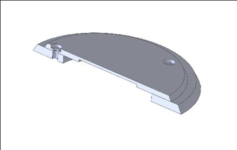 Presence detector cover (cutaway)