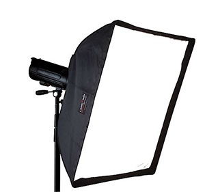 An example of a good value softbox from Lencarta.