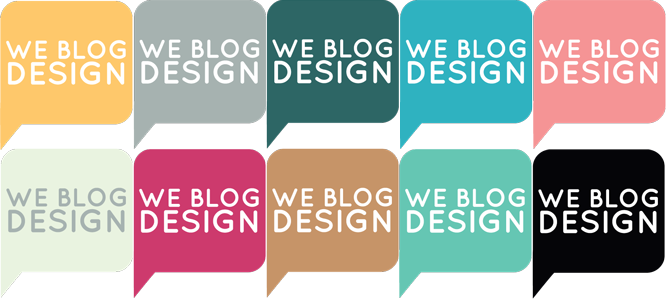 Join We Blog Design and get an awesome choice of buttons for your blog!