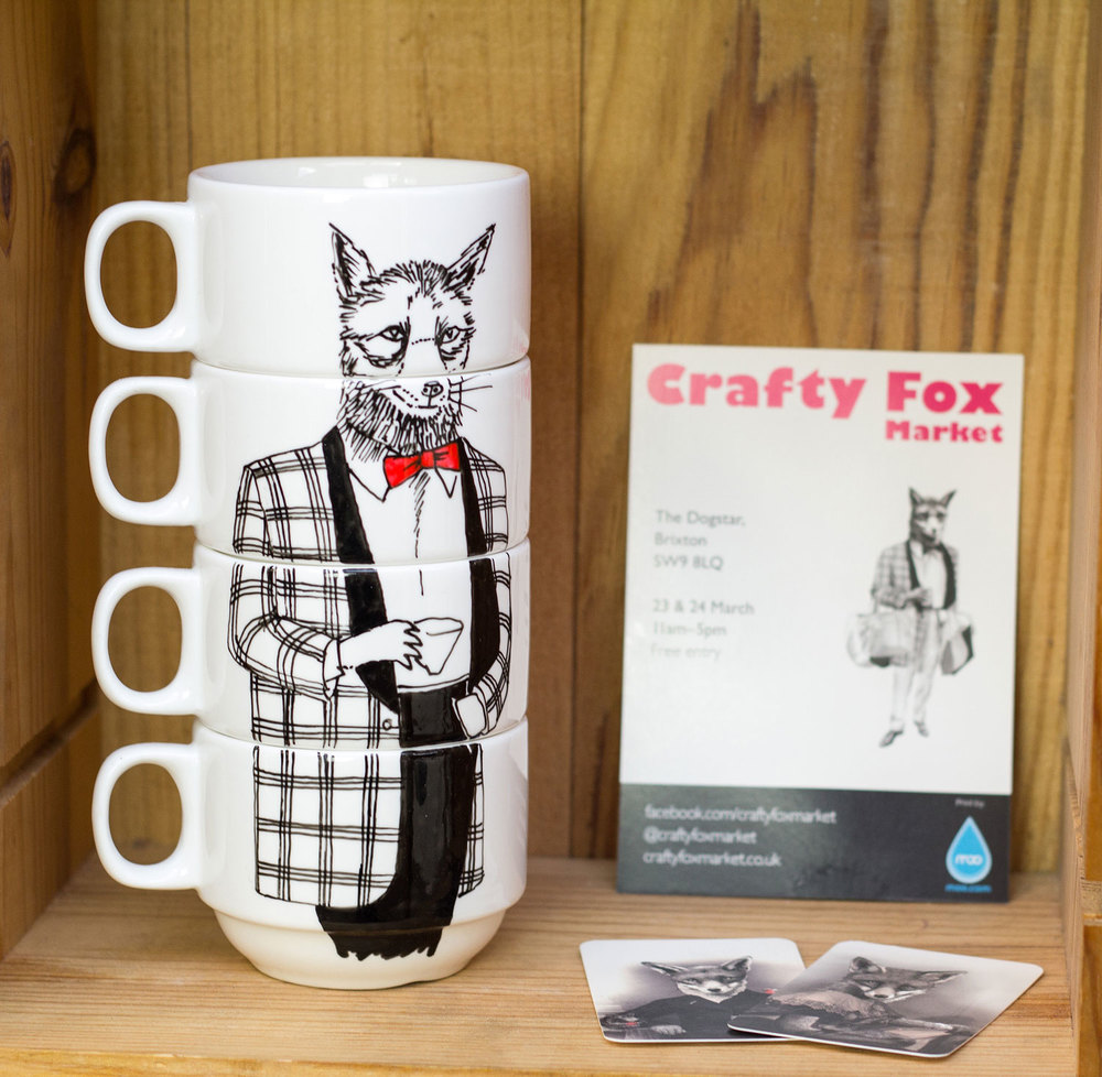 Crafty Fox Pop up Shop