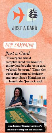 Sarah Hamilton Just a Card