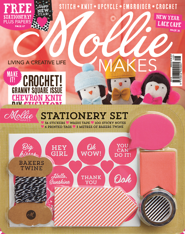 Mollie Makes Jan 15