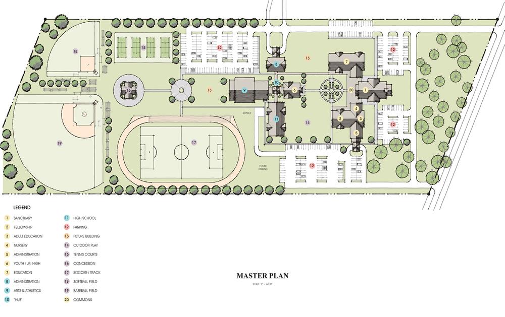 Grand Dunes Campus Plan