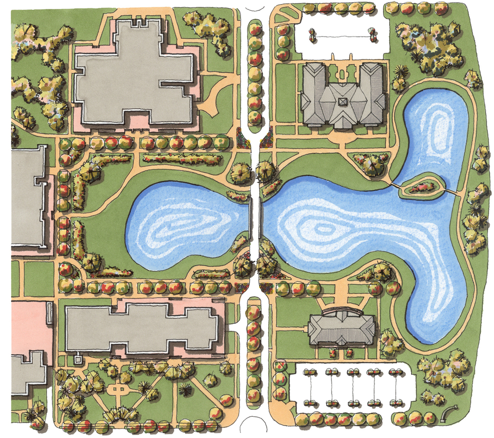 Francis Marion University Quad Planning