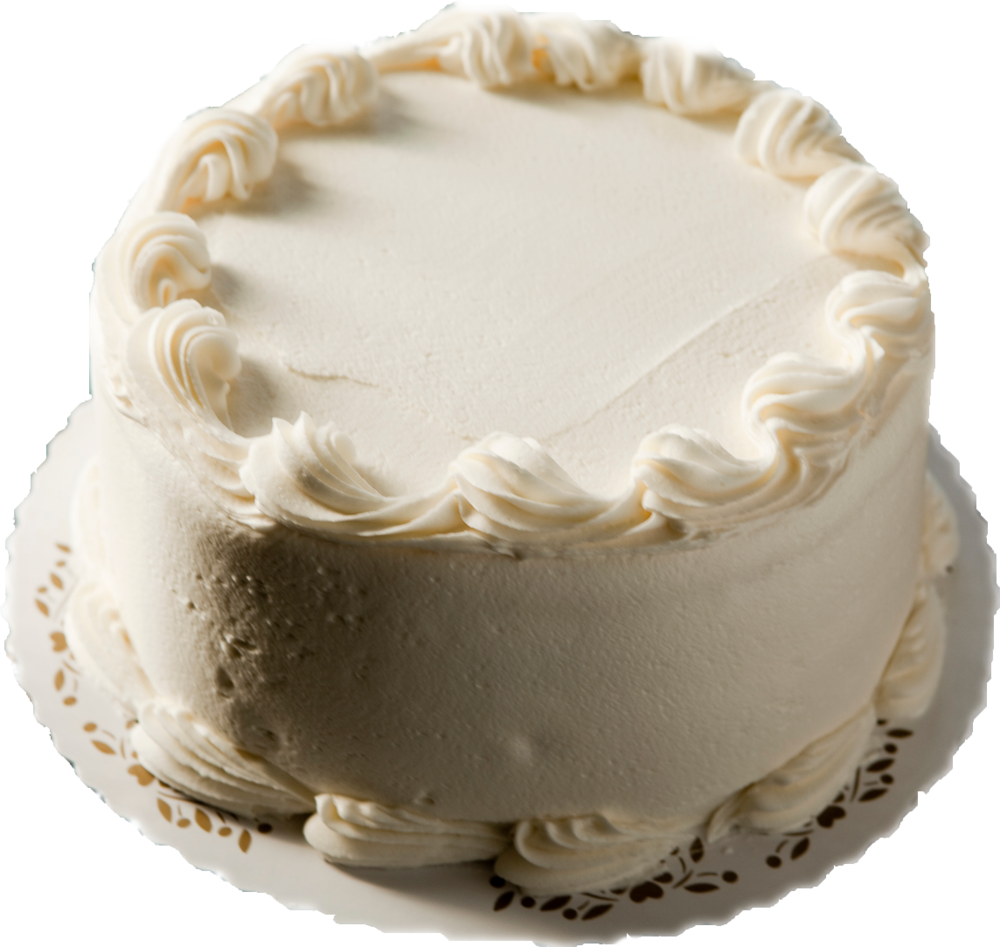 White Cake with White Icing