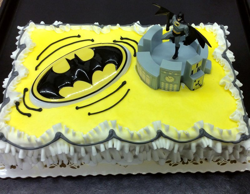 Batman Sheet Cake