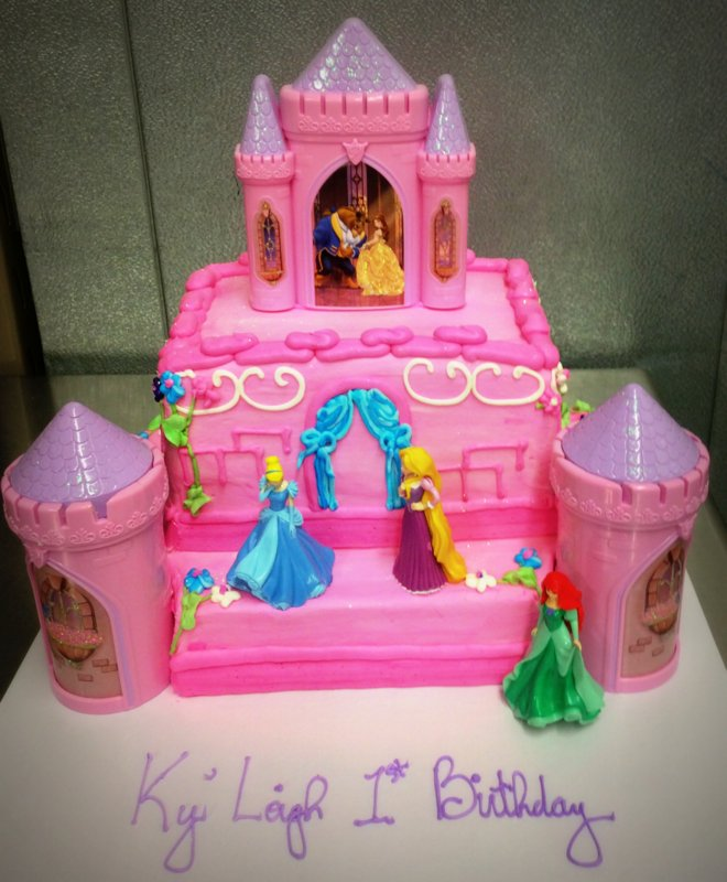 Disney Princess Specialty Cake