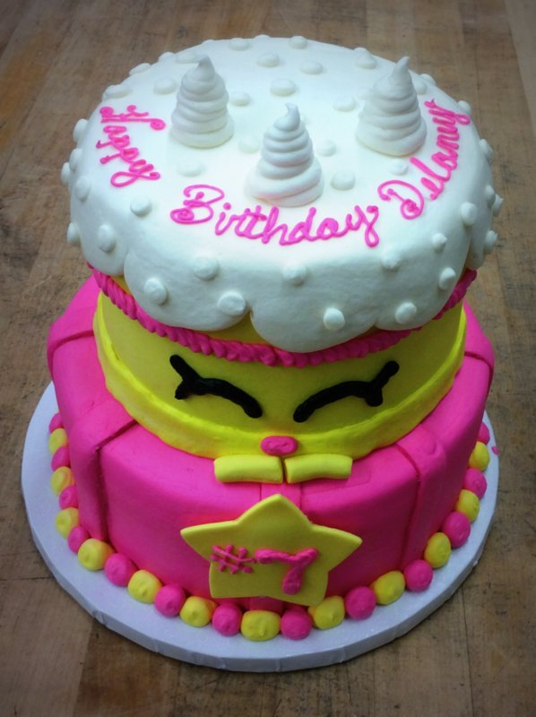 Shopkins Party Cake