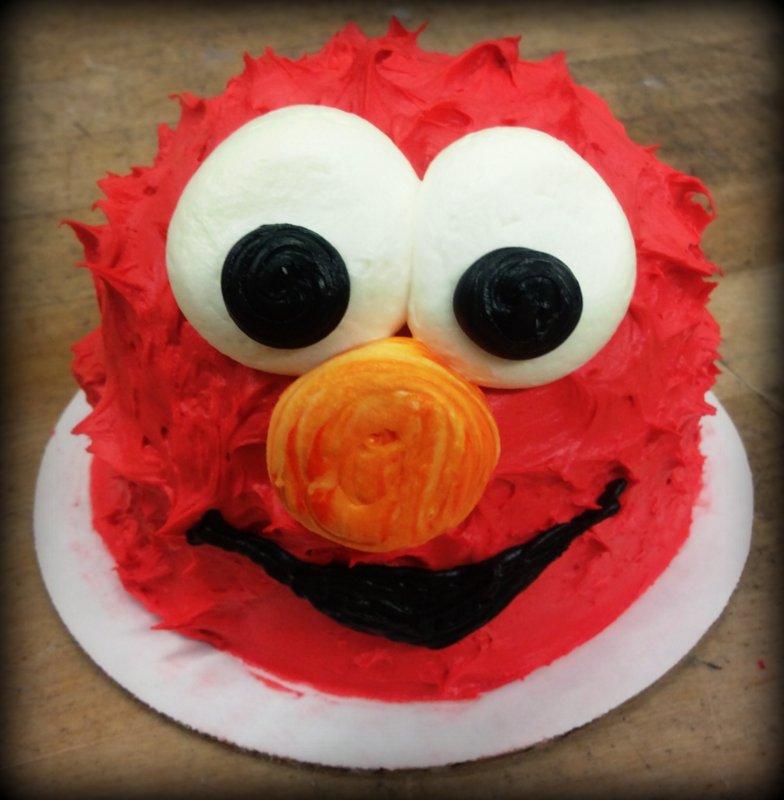 Elmo Petite Cake