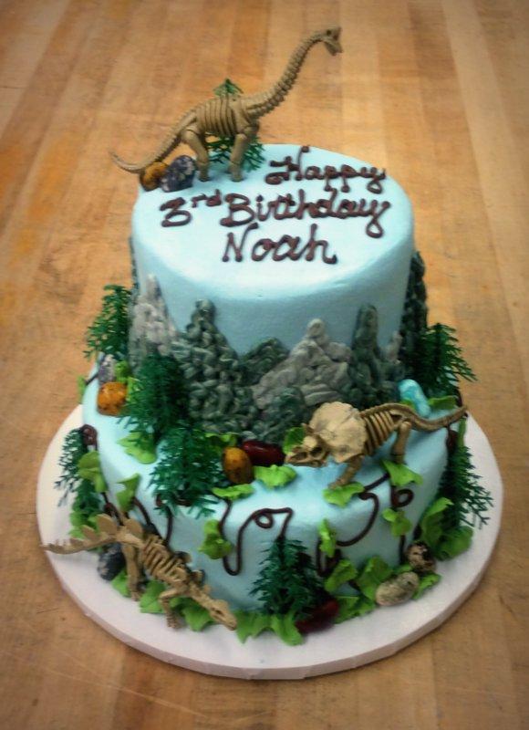 Dinosaur Party Cake