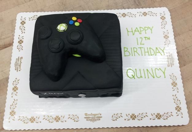 Xbox Birthday Cake