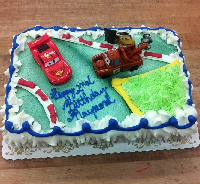 Cars the Movie Sheet Cake