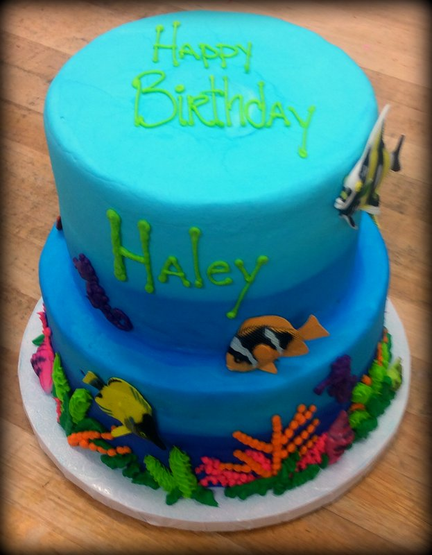 Under the Sea Party Cake