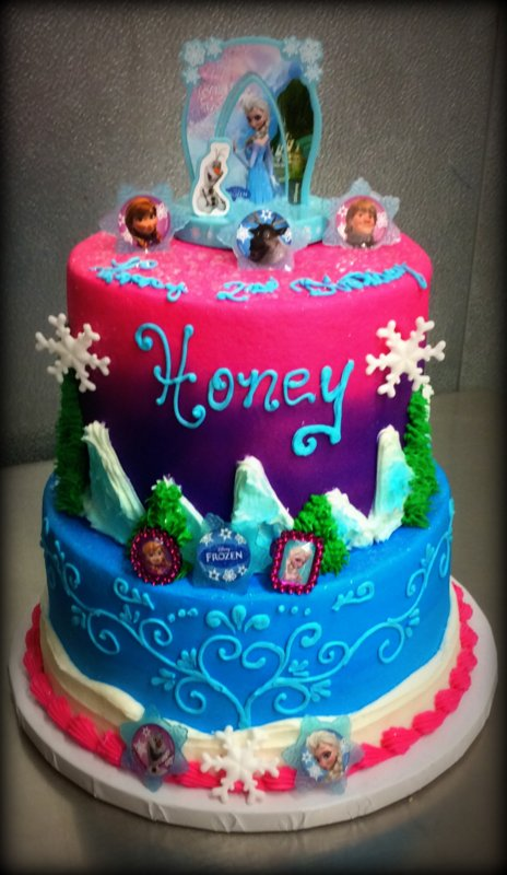 Fancy Frozen Party Cake