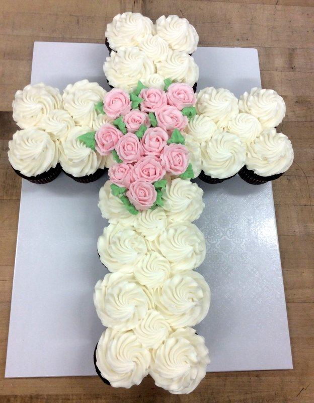 Cupcake Cross Cake