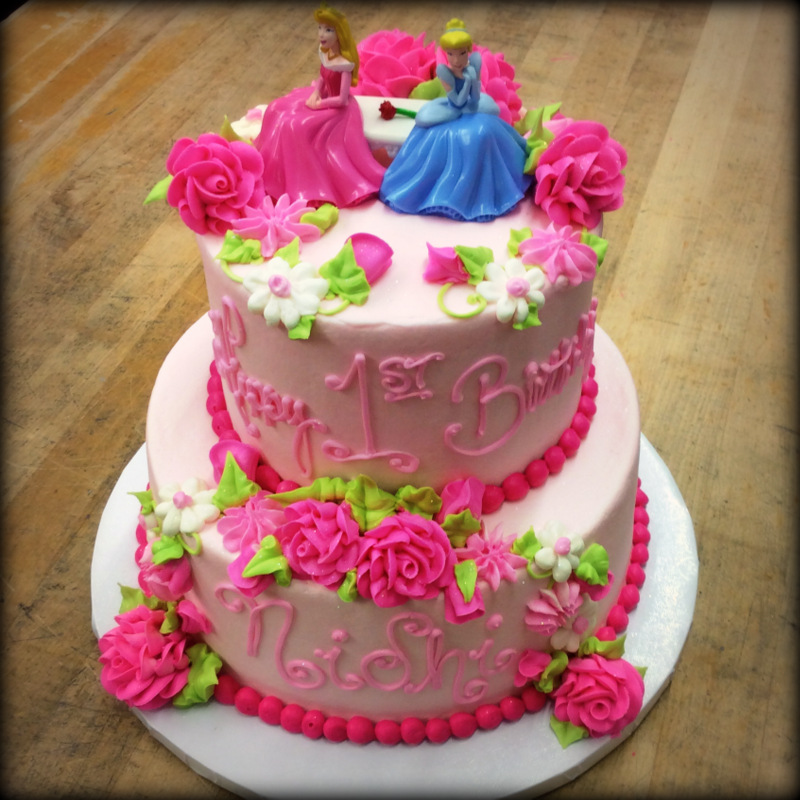 Disney Princess Party Cake
