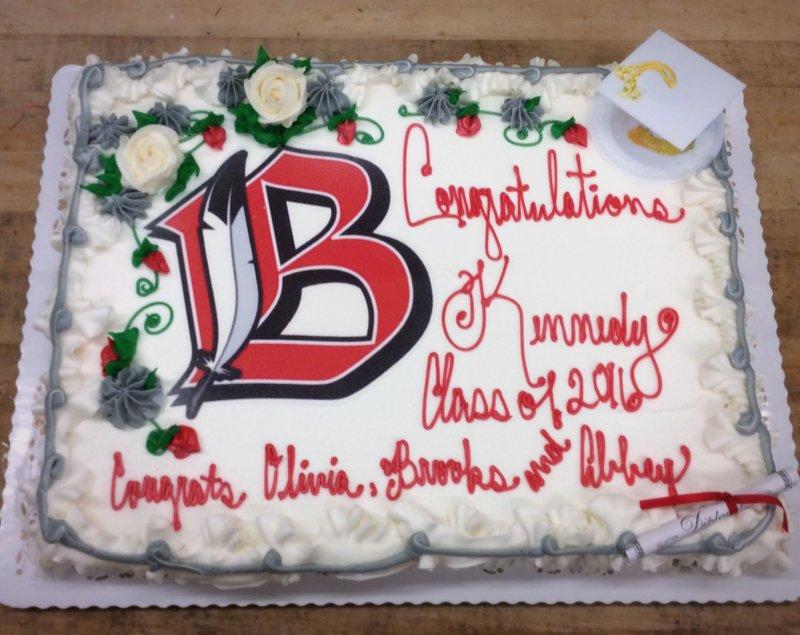 Graduation Cake with Photoscan