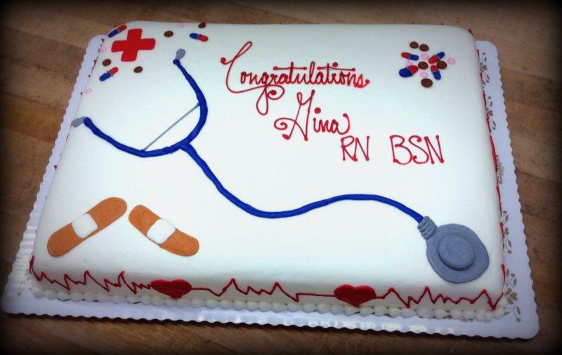 Nurse Sheet Cake