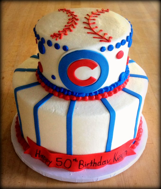 Chicago Cubs Party Cake
