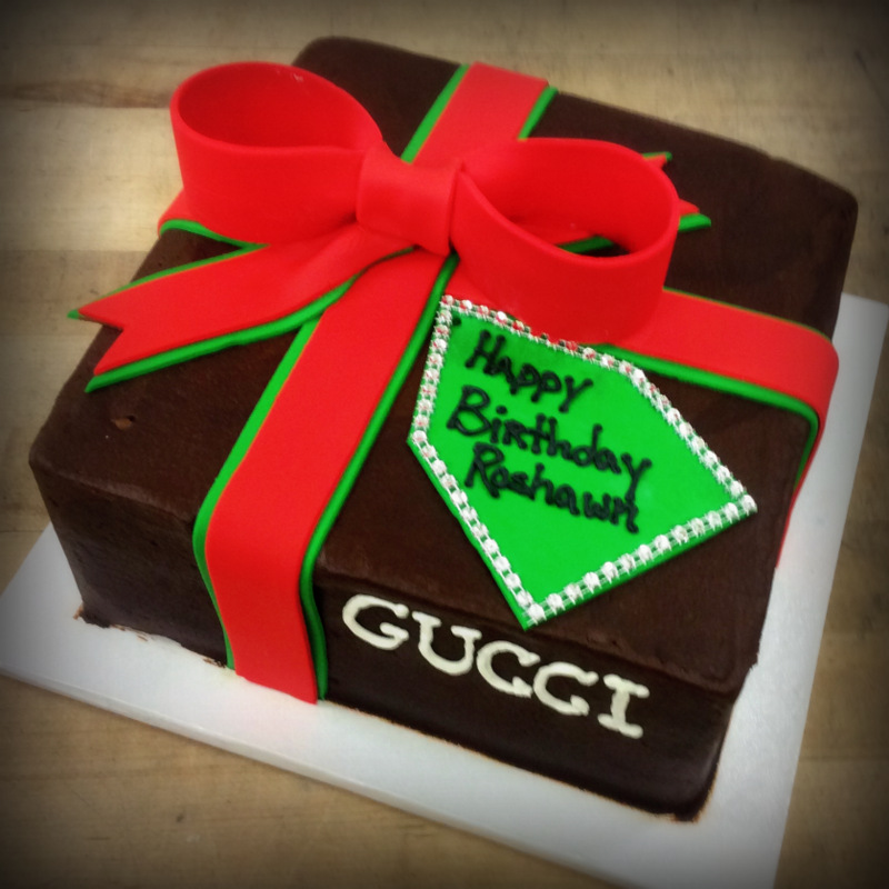 Chocolate Gucci Box with Bow