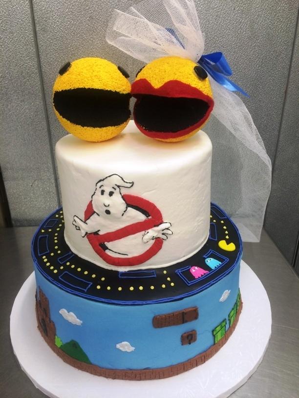 Eighties Party Cake
