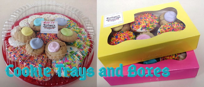 Cookie Trays and Boxes