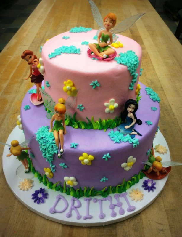 Disney Fairies Party Cake Trefzgers Bakery