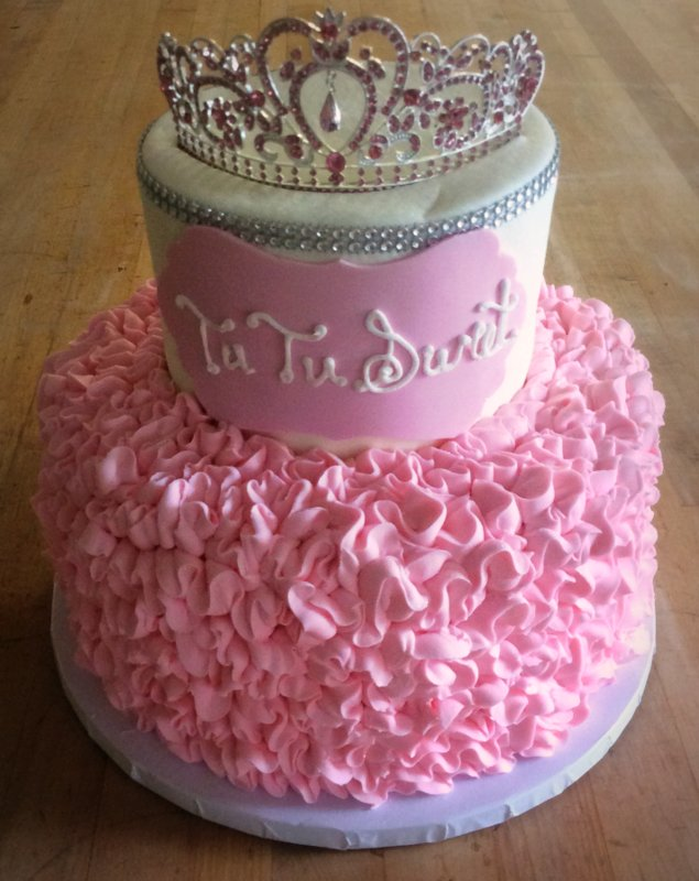 Tutu Ruffle Party Cake