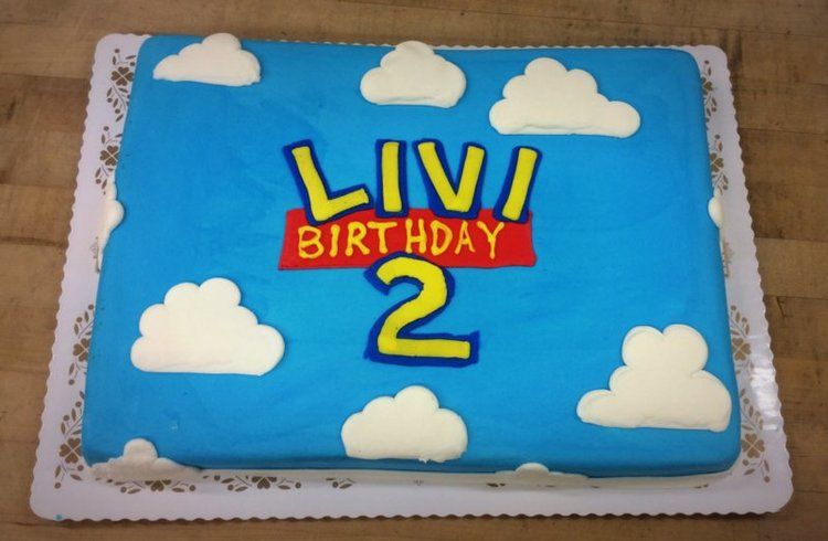 Toy Story Birthday Sheet Cake