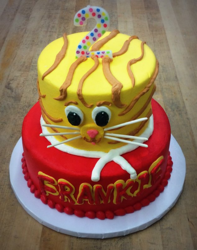 Daniel Tiger Party Cake Trefzger S Bakery