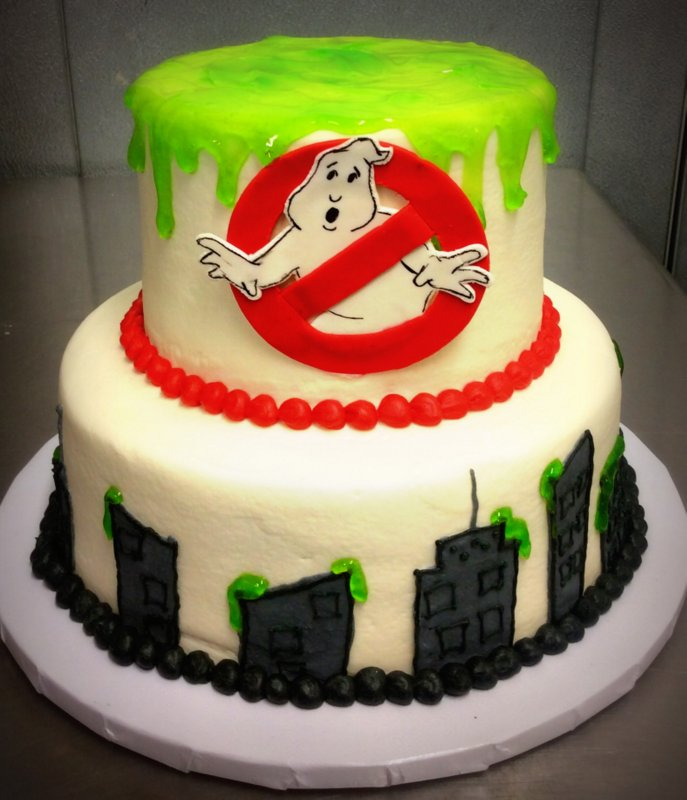 Ghostbusters Party Cake
